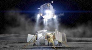 Boeing Presents SLS-Launched Lunar Lander Proposal