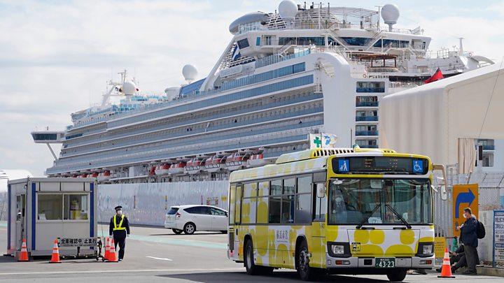 Coronavirus: Japan Cruise ship's US passengers home for further quarantine